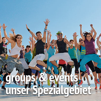 groups & events bei Patricio Travel